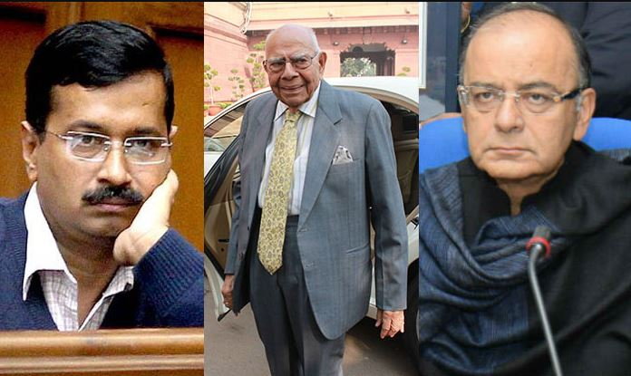 Arvind Kejriwal used worse abuses than crook for Arun Jaitley: Ram Jethmalani