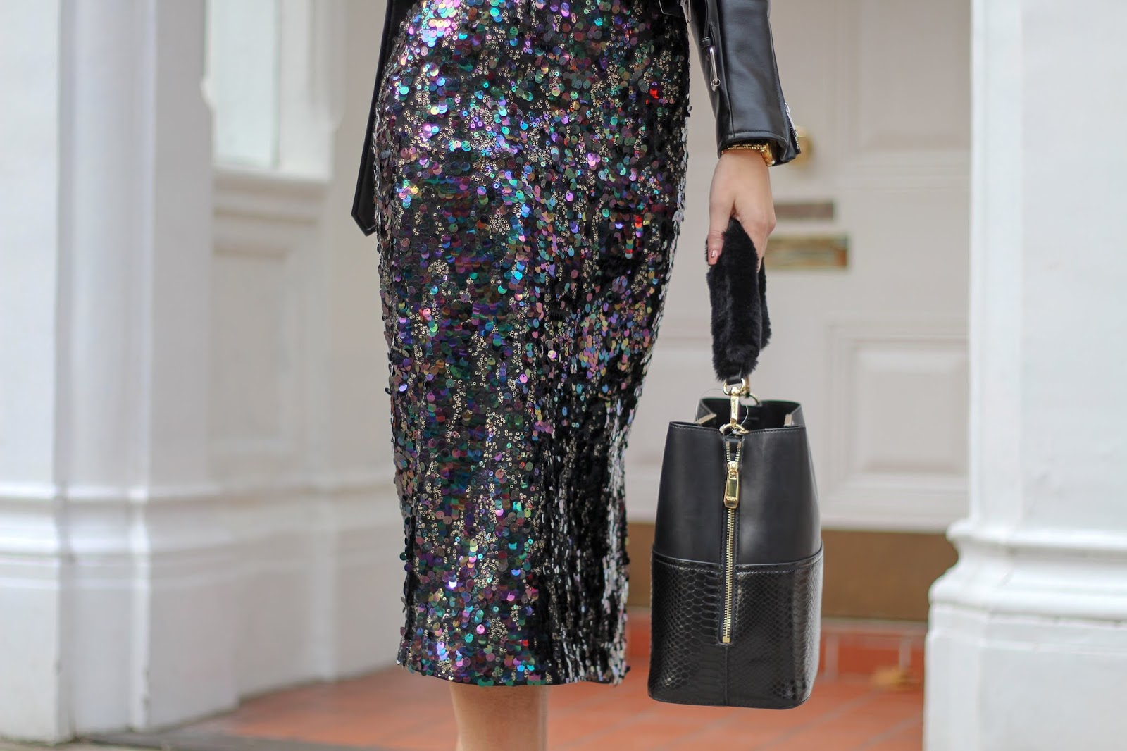 sequin midi skirt marks & spencer peexo