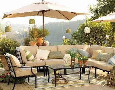 Desain Ruang Tamu Outdoor Inspirasi Desain Rumah