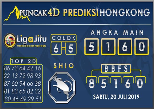 PREDIKSI TOGEL HONGKONG PUNCAK4D 20 JULI 2019