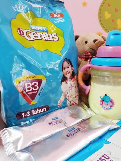 Susu Suffy B Genius 500 gram