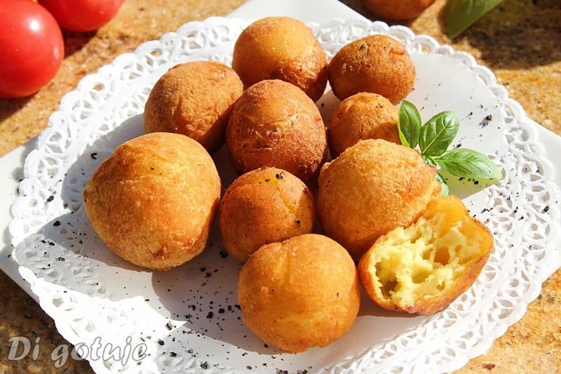 Ziemniaki Dofinki (Dauphine) - ptysie ziemniaczane