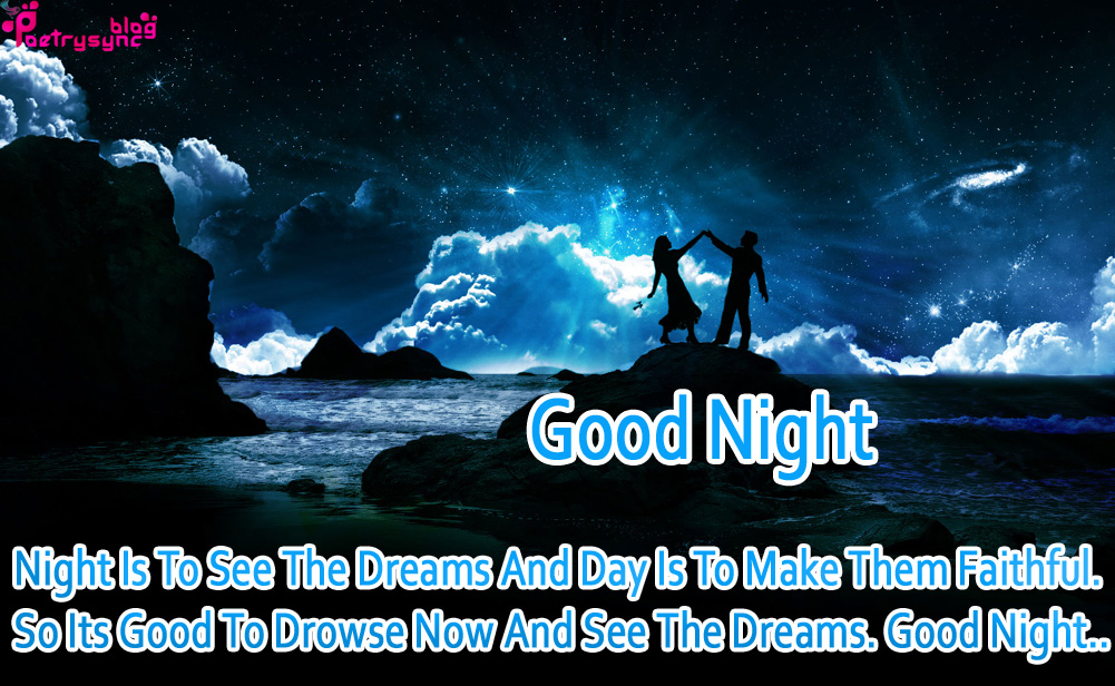 Good night and have a nice dream  Good Night Wishes  2019-07-30