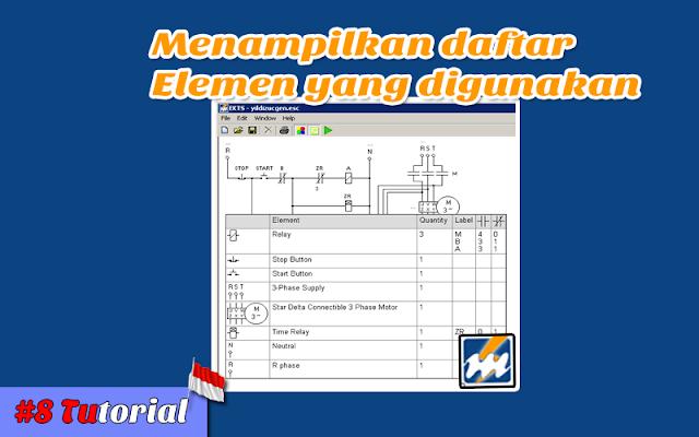 Menampilkan Daftar Elemen Yang Digunakan Pada EKTS - Tutorial Bahasa Indonesia #8