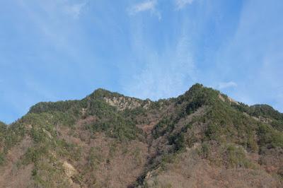 生坂の山々