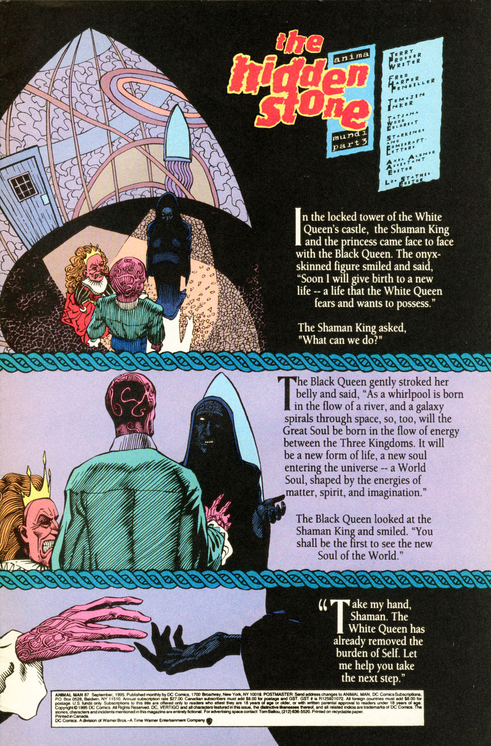 Read online Animal Man (1988) comic -  Issue #87 - 2