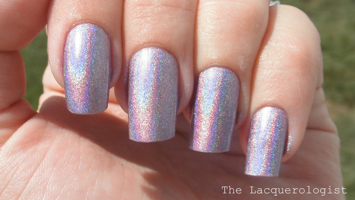 Layla Hologram Effect Ultra Violet - Swatches and Review! • Casual ...