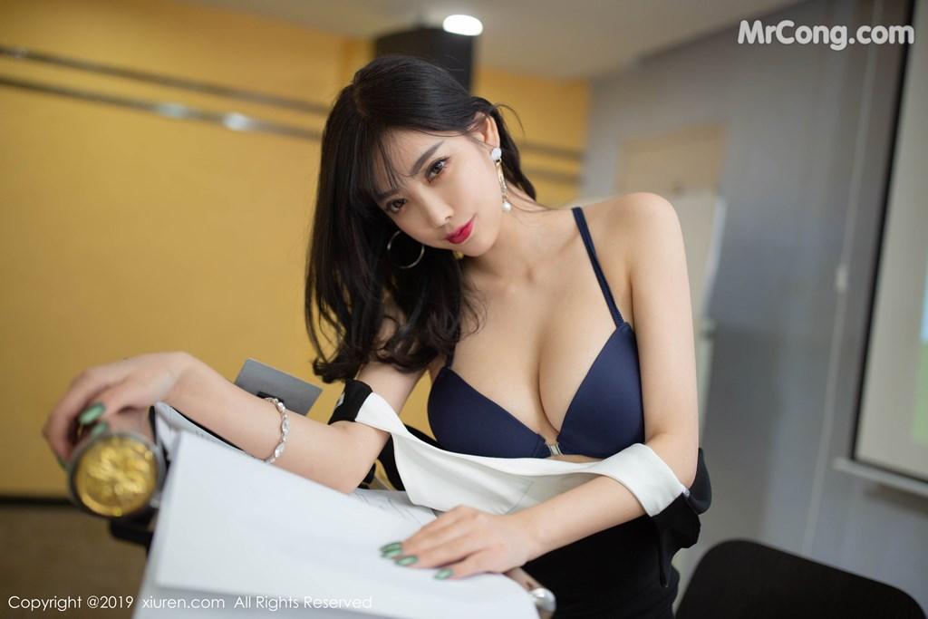 Image XIUREN-No.1803-Yang-Chen-Chen-sugar-MrCong.com-003 in post XIUREN No.1803: Yang Chen Chen (杨晨晨sugar) (79 ảnh)