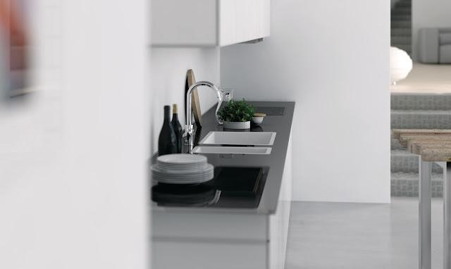 Chiuveta de bucătărie Granit compozit Lando