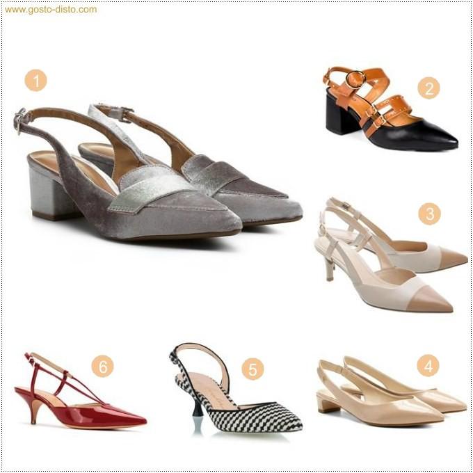 Sapato chanel com salto gatinho a tendência da vez