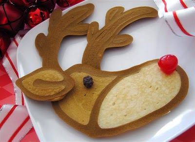 Reindeer Pancakes, Jenni Price Illustration