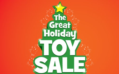 Geekmatic Press Release Toy Kingdom Holiday Toy Sale