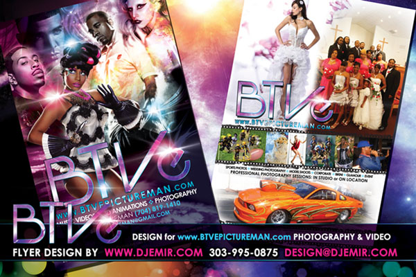 BTV Entertainment Flyer Design