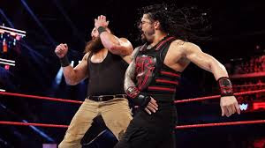 WWE Tag Team Raw Roman Reigns Bobby Lashley Strowman