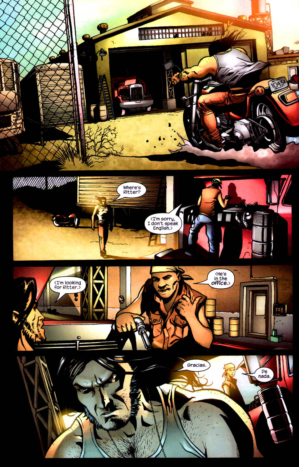 Read online Wolverine (2003) comic -  Issue #8 - 7