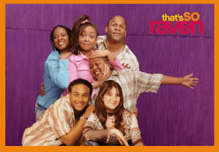 "A publicity photo of the cast of Disney's ""That's So Raven"" which starred the eponymous Raven-Symoné."