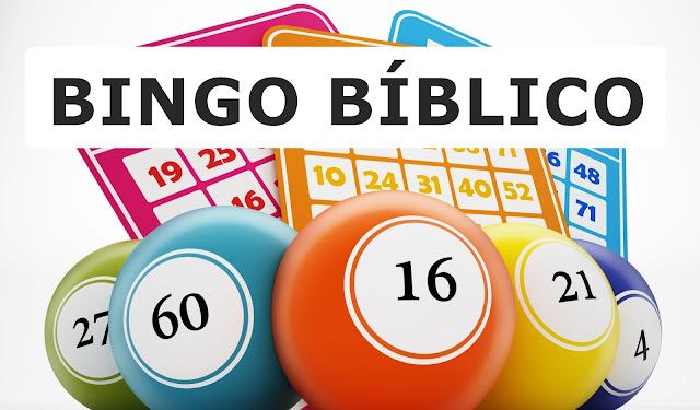 Bingo biblico para crianças