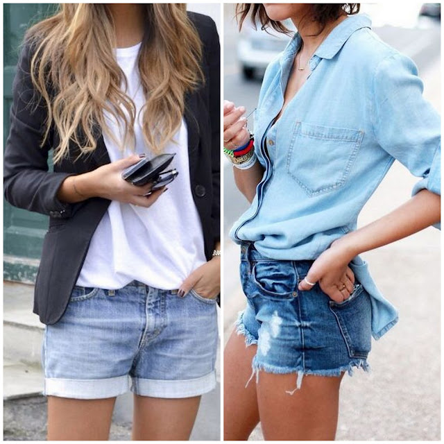 Fashion Inspiration | Celebrities denim shorts: 27 New Ways to Style Your Denim Cutoffs