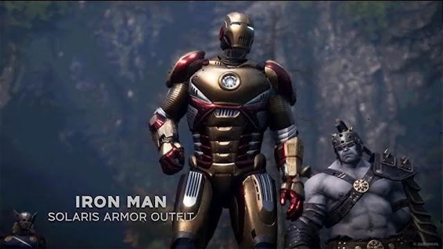Marvel's Avengers Solaris Armor Iron Man Legendary Outfit - Community Challenges Cosmetics