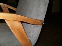 renowacja  fotela 300-123 krok po kroku
