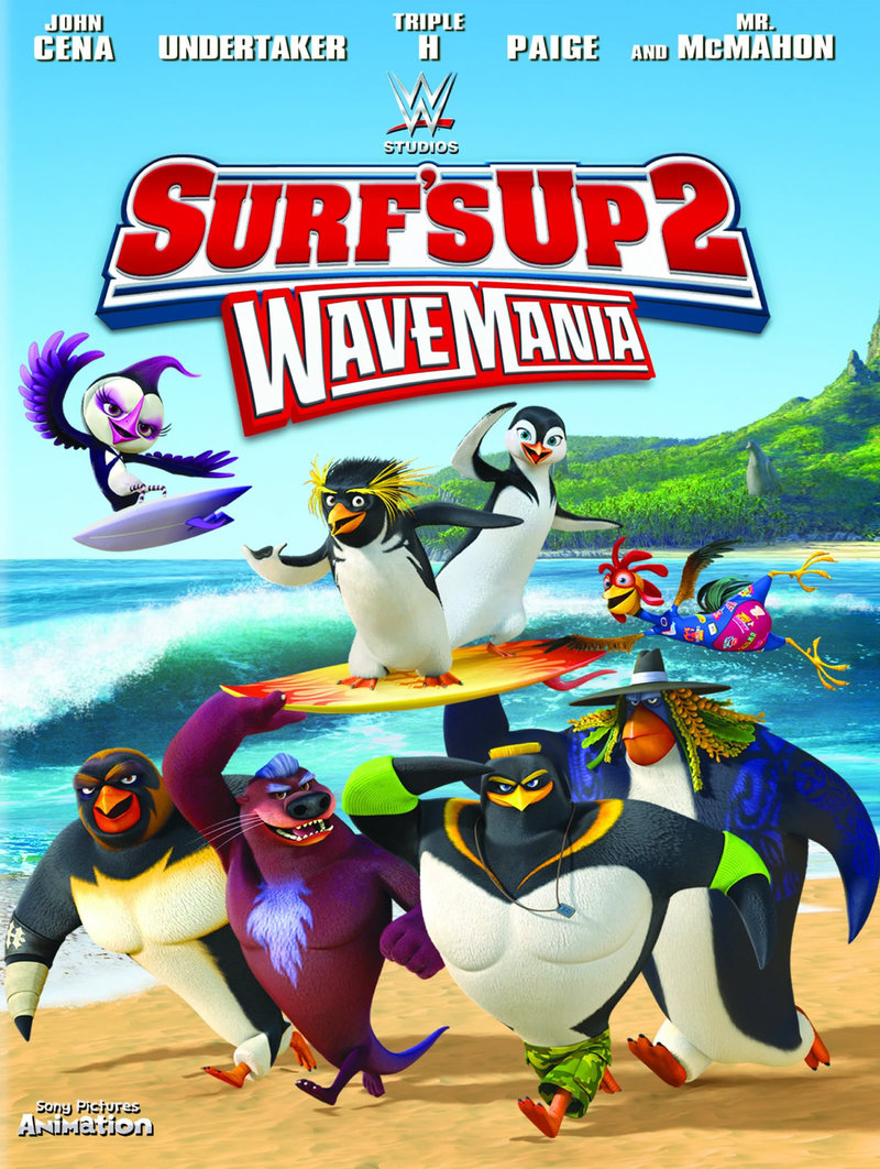 Surf's Up 2: WaveMania [2017] [DVDR] [NTSC] [Latino]