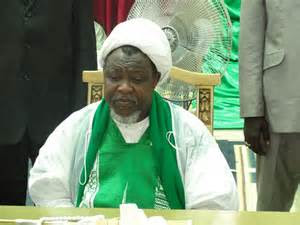 Members of the Shi'ia Islamic sect are said to be currently trekking from Zaria, Kaduna State to the FCT, Abuja to demand the release of their leader Ibrahim Zakzaky.