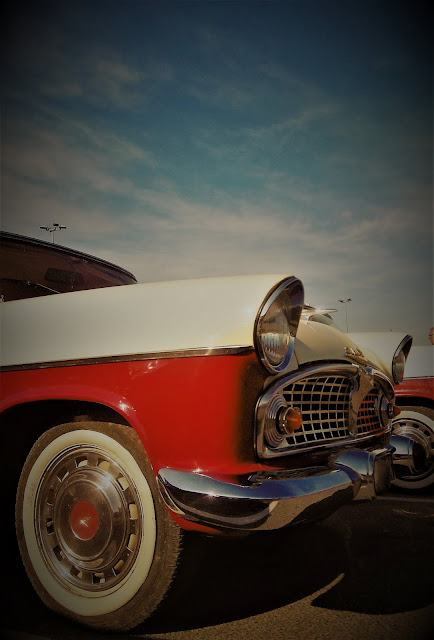 Simca Chambord, un petit air US ou Cuba, Creysse, malooka
