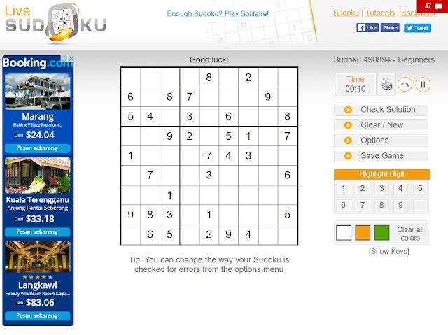 Main Sudoku Online