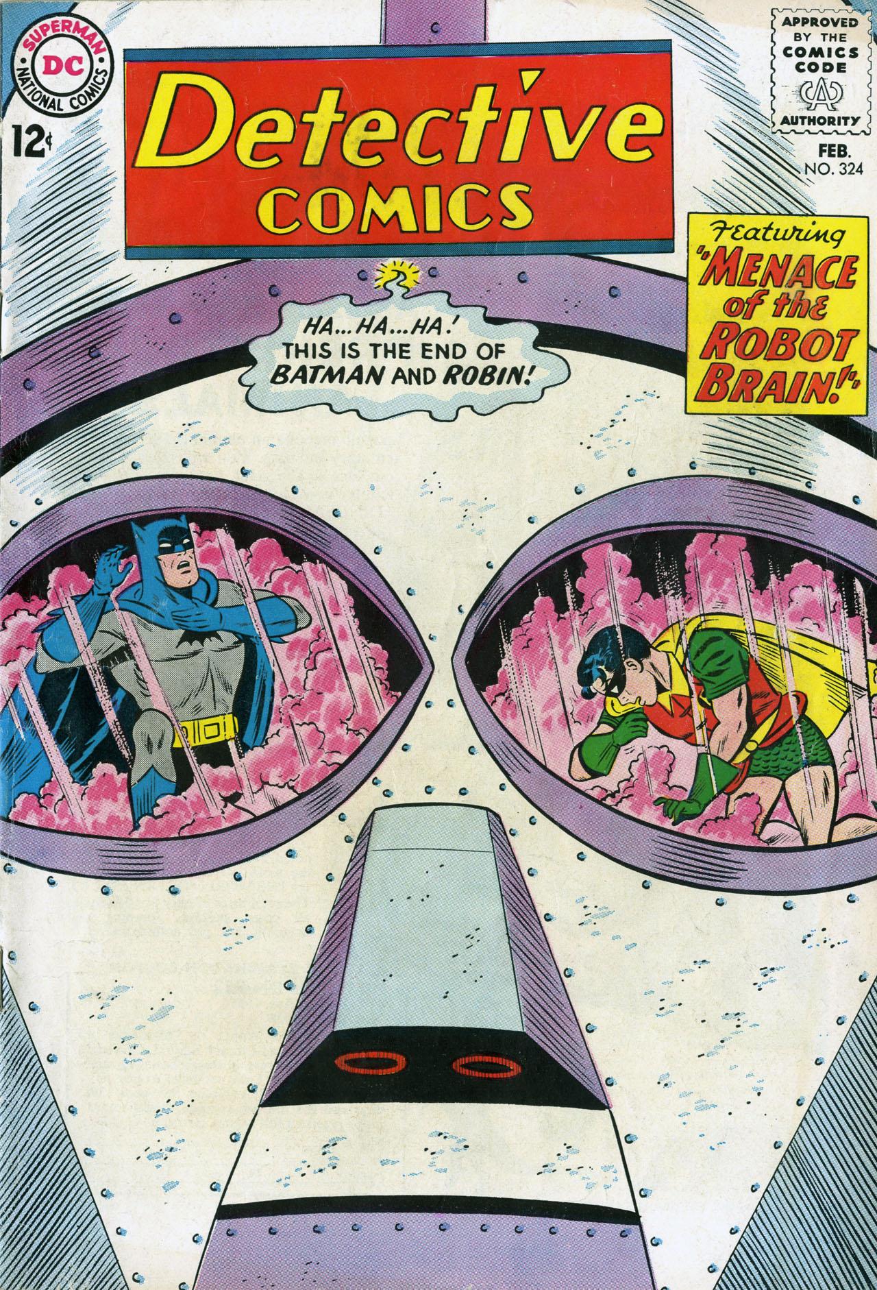 Detective Comics (1937) 324 Page 0