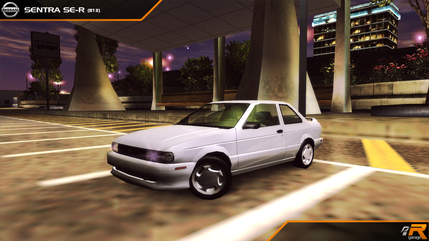 Need for Speed Rides CR: Nissan Sentra SE-R (B13)