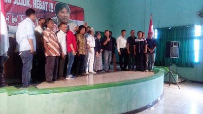 Deklarasi Relawan Dukung Agus Condro Nyalon Bupati