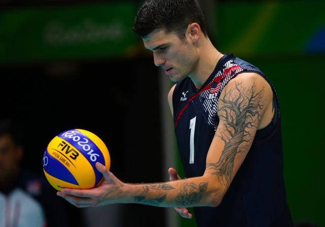Matt Anderson tatuaje