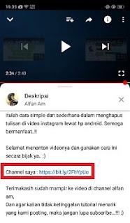 Cara Menambahkan Link Di Deskripsi Video Youtube