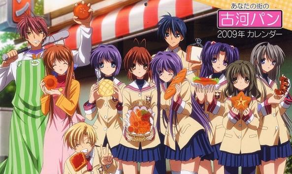 Anime Drama Romance Terbaik - Clannad