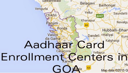 Aadhaar Card Enrollment Centers in Panaji – GOA