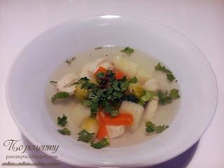 Как приготовить куриный суп с брюссельской капустой