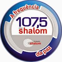 Rádio Educativa Shalom FM 107,5 de Rondonópolis MT - Mato Grosso