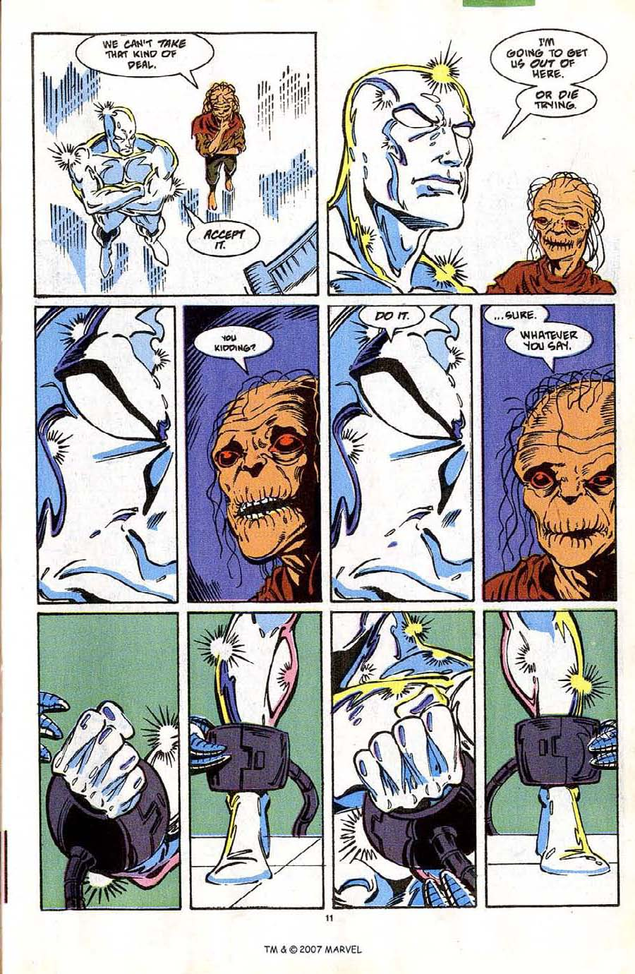 Read online Silver Surfer (1987) comic -  Issue #42 - 13