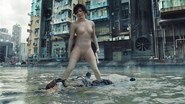 Fotograma de la película: Ghost in the Shell: El alma de la máquina (2017)