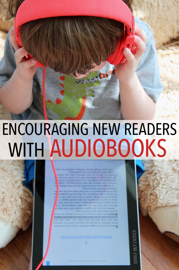 Help kids learn to read by combining narration & written text - plus 10 classic kids books available with audio! Find out how to help your new reader by syncing audio and text - a perfect low stress way to encourage emergent readers!