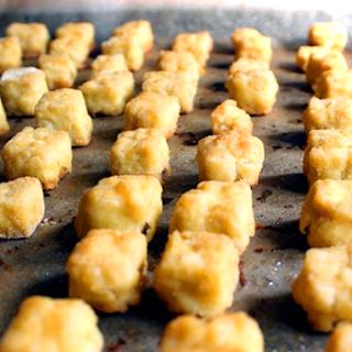 Oppskrift Sprø Tofuterninger Tofu Kjøttfri Tapas Vegetartapas