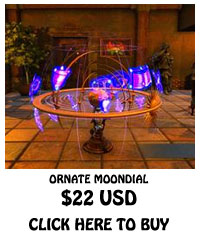For Sale Ornate Moondial