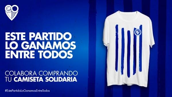Málaga, se venden 300 camisetas solidarias para la lucha contra el COVID-19