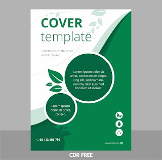Template Cover Cover CDR
