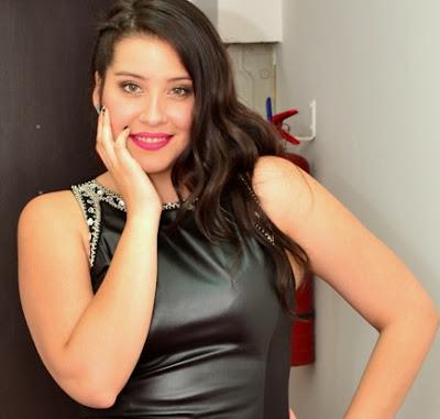 Foto de María José Quintanilla sonriendo