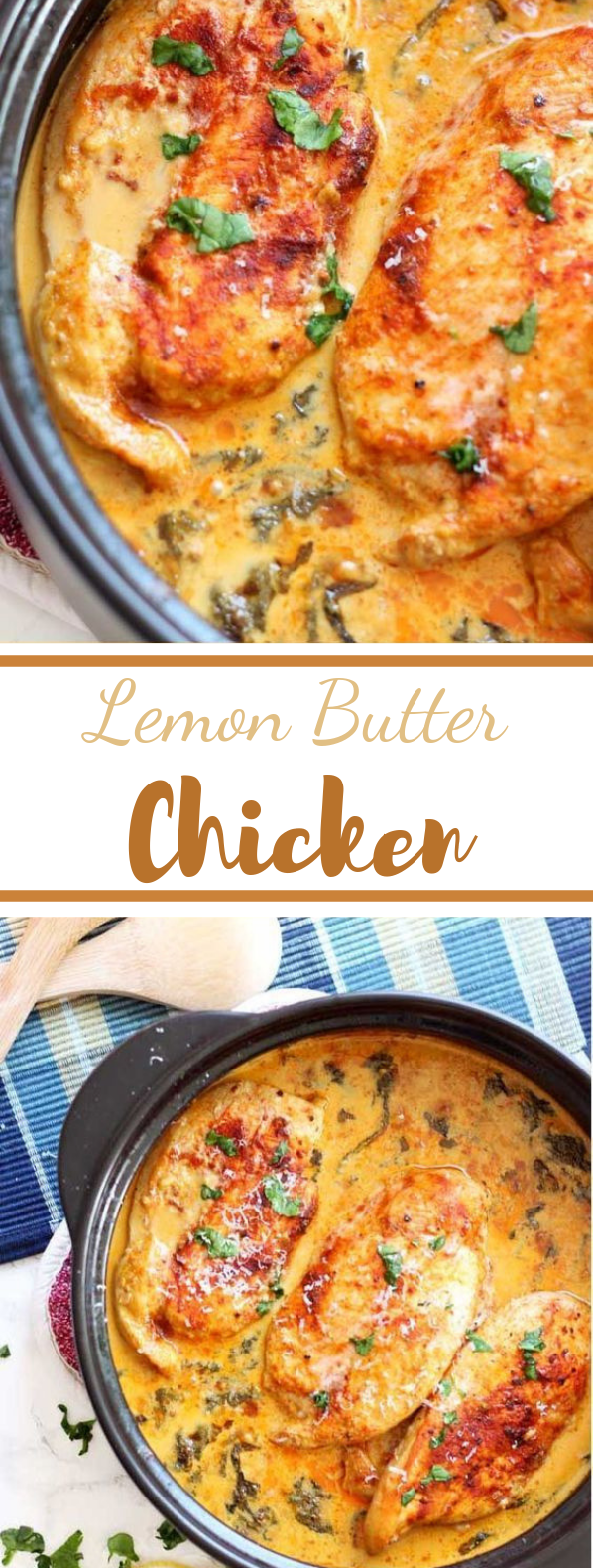 Lemon Butter Chicken #dinner #chicken