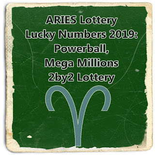 ARIES Lottery Lucky Numbers  Powerball, Mega Millions and 2by2 Lottery
