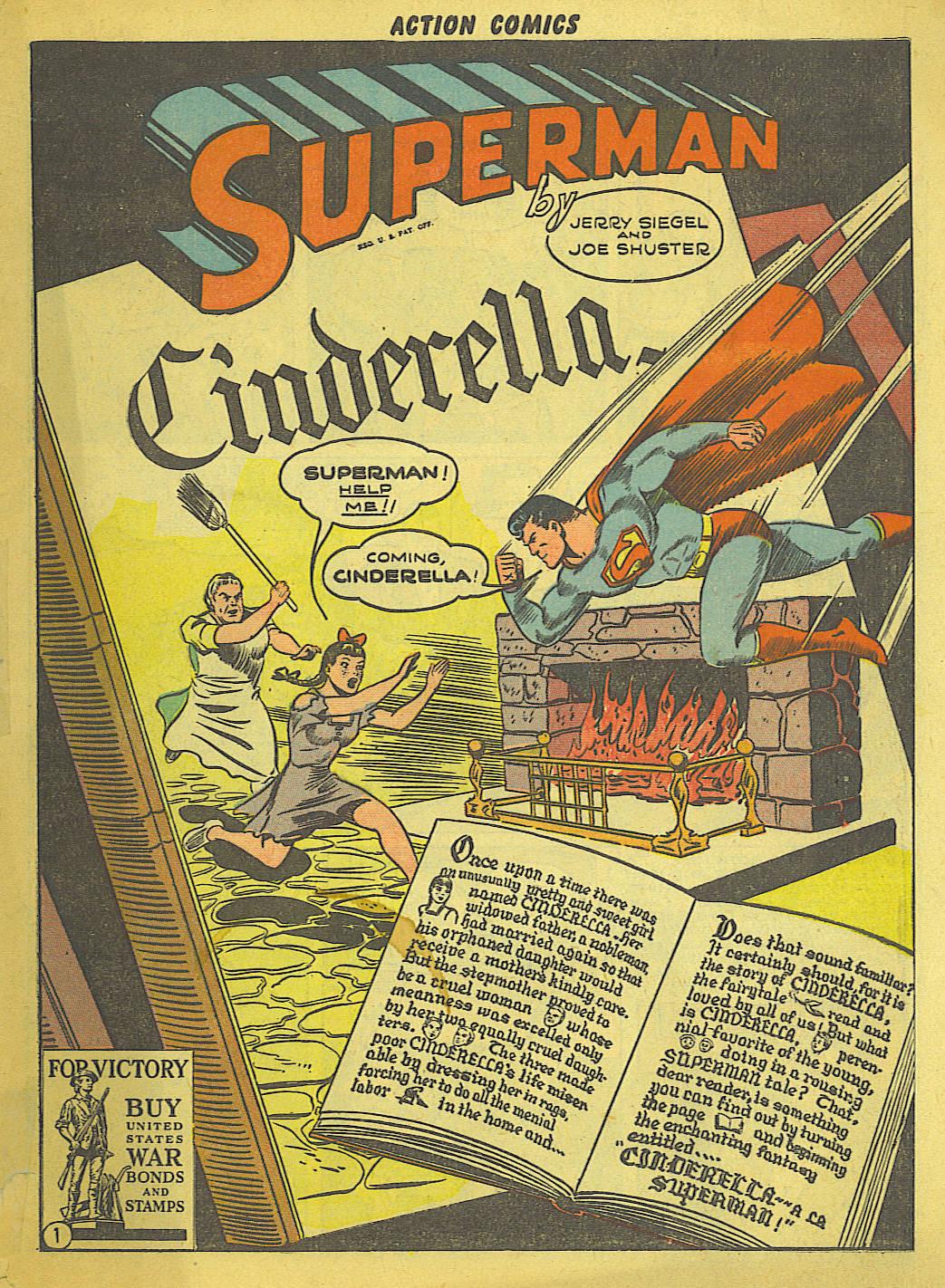 Action Comics (1938) 59 Page 1