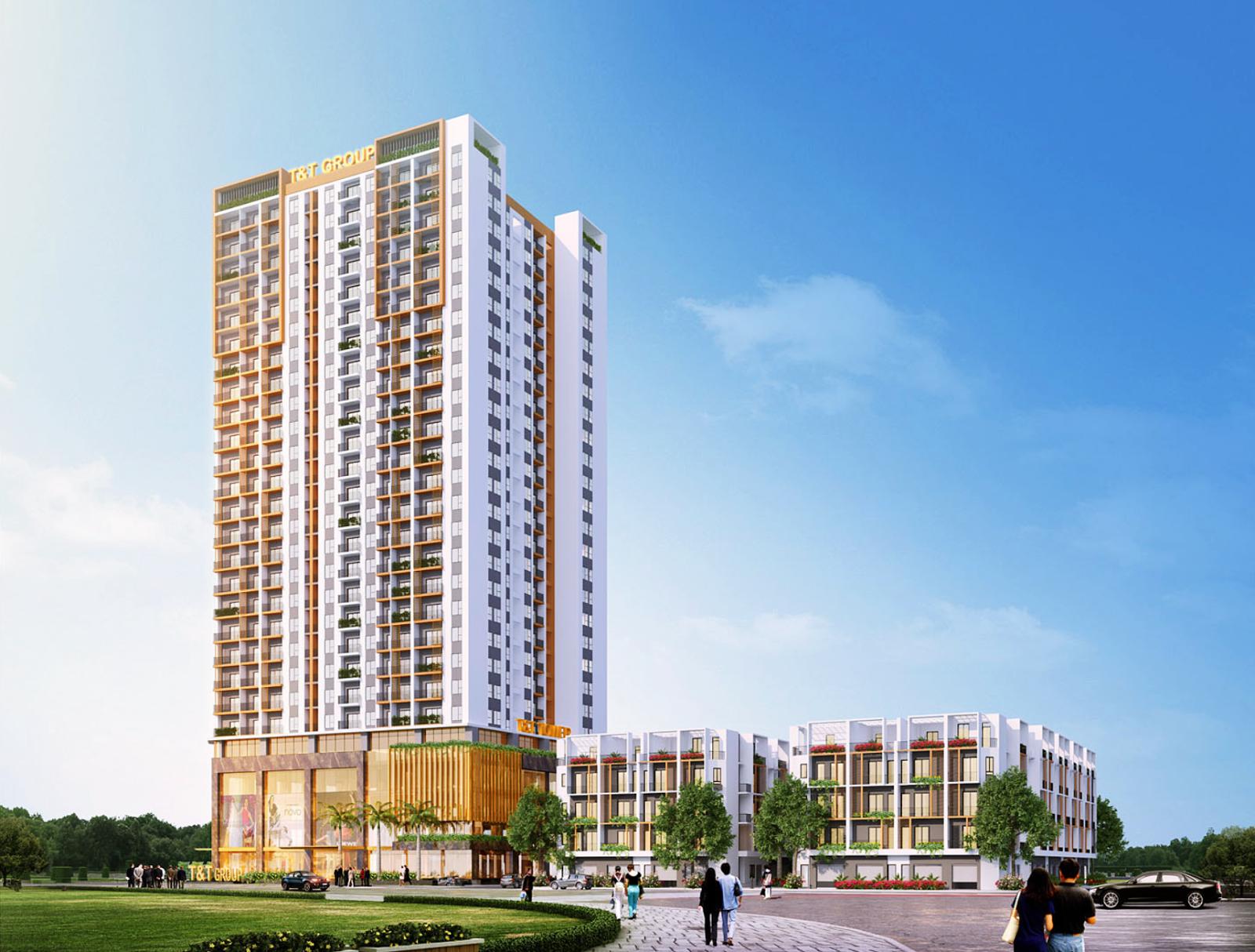 Phối cảnh chung cư T&T Định Công