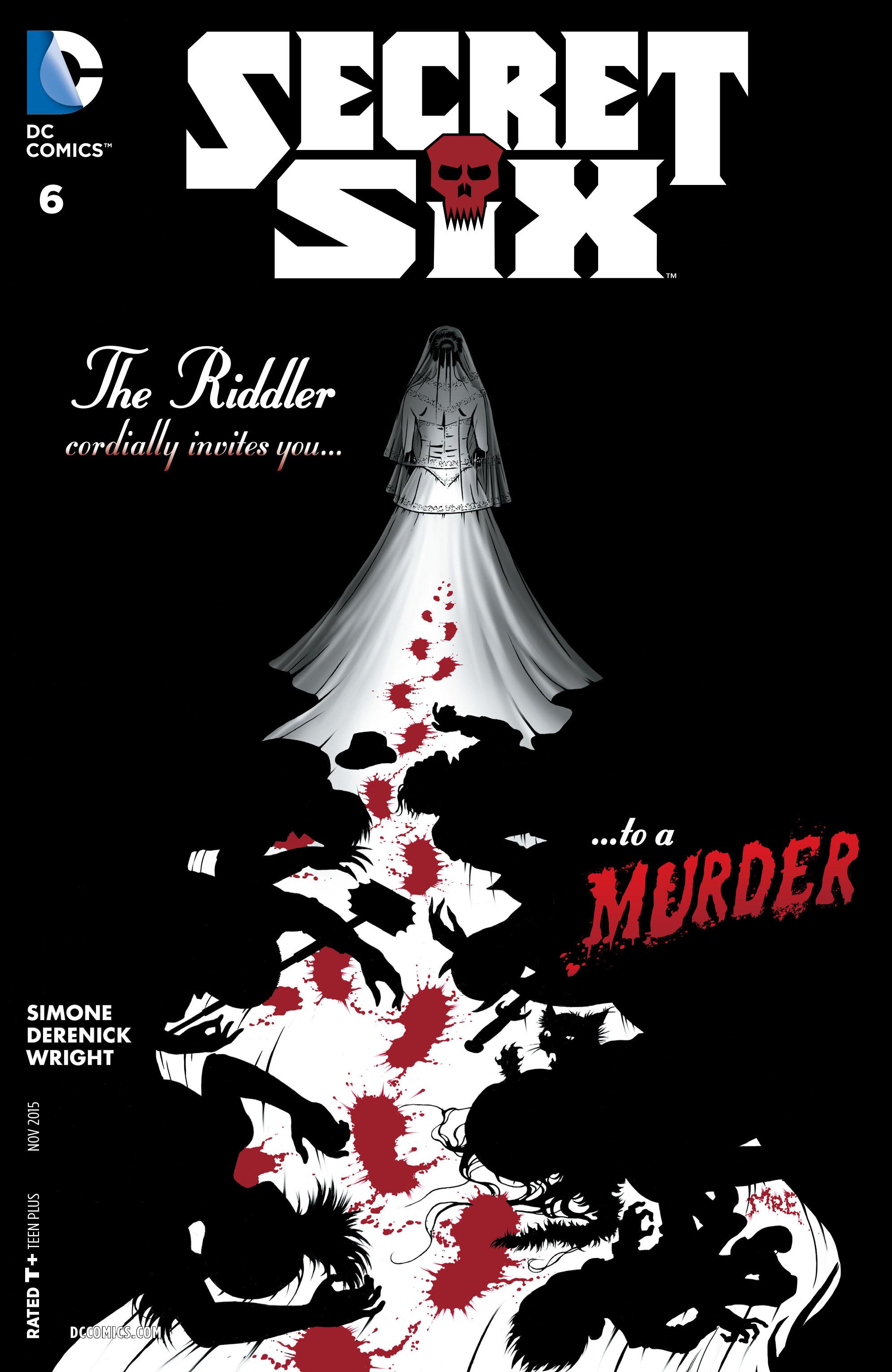 Read online Secret Six (2015) comic -  Issue #6 - 1